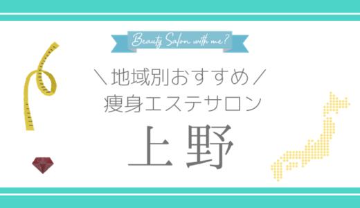 【上野×痩身エステ】おすすめ&安いエステサロンのまとめ